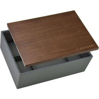 stackers charcoal 8 piece watch box (lid included) | 73648