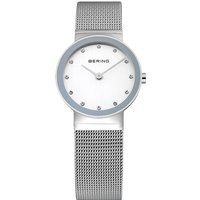 bering steel mesh silver shiny watch | 10126000