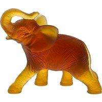 Daum Amber Elephant | 03917 - Elephant Gifts