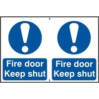 Notice Fire Door Keep Shut