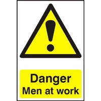 Notice Danger Men At Work