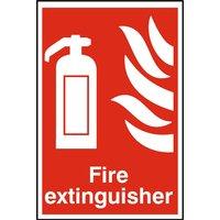 Notice Fire Extinguisher