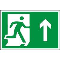 Notice Running Man Arrow Up (Symbol)