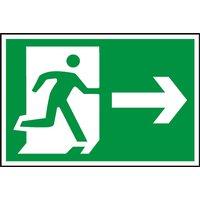 Notice Running Man Arrow Right (Symbol)