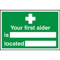 Notice Your First Aider Is
