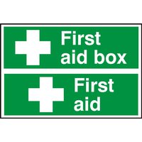 Notice First Aid/First Aid Box