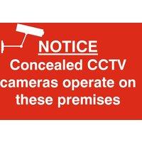 Notice Concealed CCTV