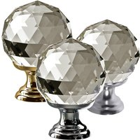 Swarovski Crystal Cupboard Knob 40mm