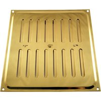 Brassed Hit and Miss Vent 210x229mm