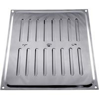 Chromed Hit and Miss Vent 210x229mm