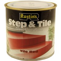 Tile Red Step and Tile Gloss Floor Paint 250ml