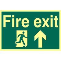 Fire Exit Up Glow In The Dark