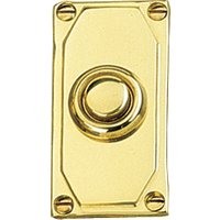 Art Deco Design Door Bell 50x38mm