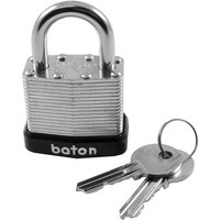 Baton Laminated Steel Padlock 40mm