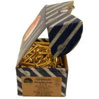 Brass CSK Woodscrews Box of 200