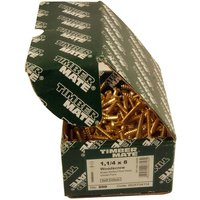 Boxes of Solid Brass Round Wood Screws