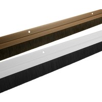 PVC Brush Door Draught Excluder 914mm