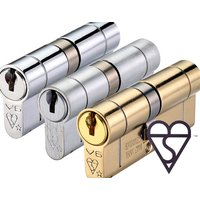 BS Kitemarked Offset Euro Cylinders 6 Pin