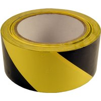 Adhesive Floor Marking Tape Yellow and Black 50mm