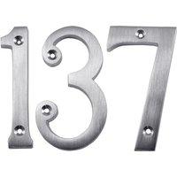 Heritage C1560 Satin Chrome Door Numerals 0-9 76mm