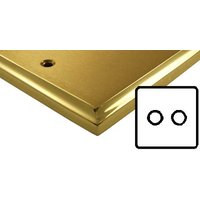 Mayfair Dual Style Brass Electrical 2G Dimmer Switch Low Volt