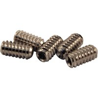 3/16x3/8in Door Handle Grub Screws Cup Point in Pack of 5