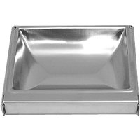 Stainless Steel Ashtray with hinged empty feature