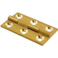 Brass Door Hinges 38x22mm in Pairs