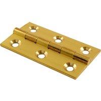 Brass Door Hinges 51x29mm