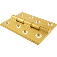 Brass Heavy Duty Door Hinges 102x76mm (4x3in)
