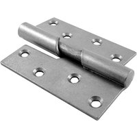 Rising Door Hinges Mild Steel Left Hand 100mm In Pairs