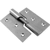 Rising Door Hinges Mild Steel Right Hand 76mm In Pairs