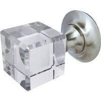 Square Glass Door Knobs 45mm