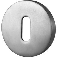 Covered Keyhole Cover Polished Anodised