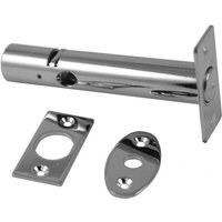 Polished Chrome Interior Mortice Door Bolt 57mm Backset