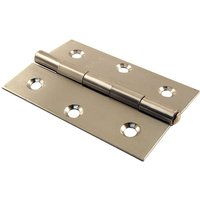 Stainless Steel Door Hinges 3x2in (76x51mm) in Pairs