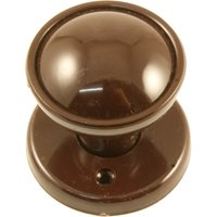 Brown Nylon Internal Door Knob Set