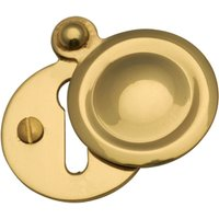 Heritage V1020 Brass Covered Keyhole Cover 33mm