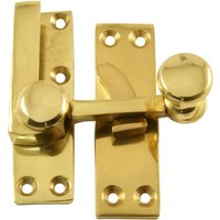 Heritage V1100 Brass Sash Window Fastener
