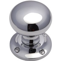Heritage V980 Chrome Victoria Interior Door Knobs