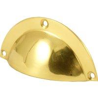 Heritage C1700 Brass Drawer Pull 97mm