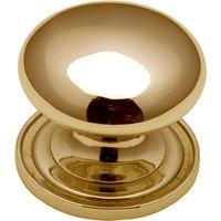 Heritage C2240 Brass Round Kitchen Cabinet Knob