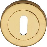 Heritage V4000 Brass Concealed Keyhole Cover 53mm