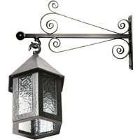 Kirkpatrick 401C Traditional Antique Style Wall Light and Bracket