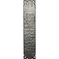 Kirkpatrick 769 Black Antique Style Finger Plate 304x63mm