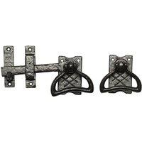 Black Antique Ironwork Gate Latch 177mm 1247