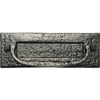 Black Antique Ironwork Letter Box 298x105mm 1963