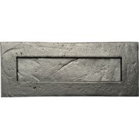 Black Smooth Iron Letter Box 1911