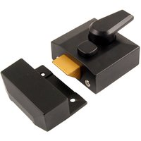 Kirkpatrick Matt Black 40mm Nightlatch