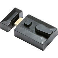 Black Standard Style Rim Nightlatch 5144